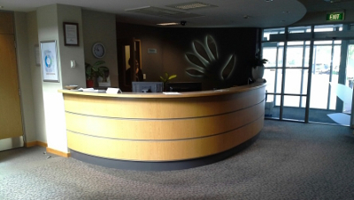 Alexander Joinery - HB Regional Council Counter